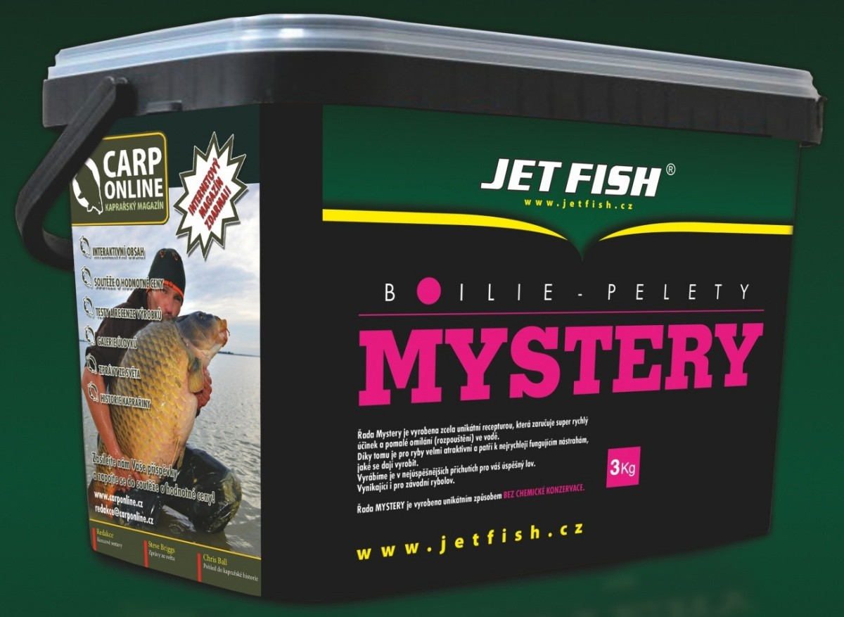 Jet Fish-Boilie Mystery 20mm/3kg