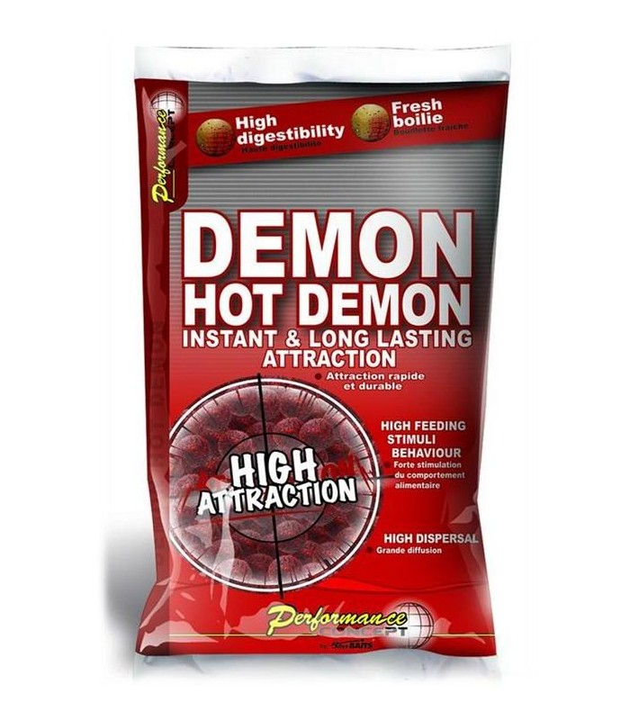 Hot Demon - Boilie potápivé 1kg 14mm