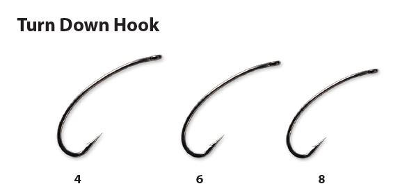 Carp LinQ- TURN DOWN HOOKS