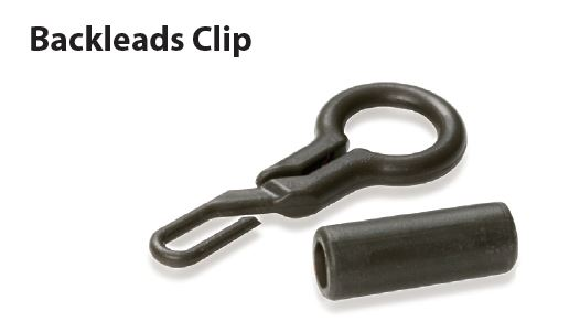 CARP LINQ- BLACKLEADS CLIP WITH BUFFER GREEN