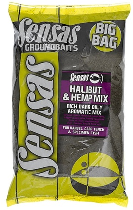Krmení Big Bag Halibut & Hemp Mix 2kg