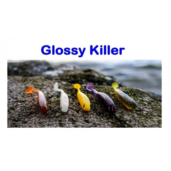 SHARPFISHES- Glossy Killer, 75mm, 3,0g White