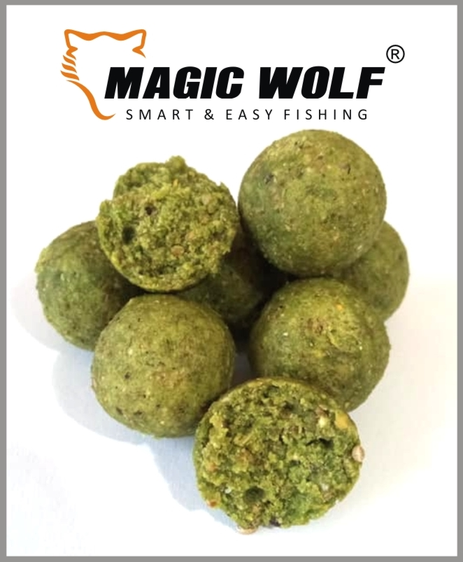 MAGIC WOLF - Boilies Speed Wolf 250gr-20mm- Česnek