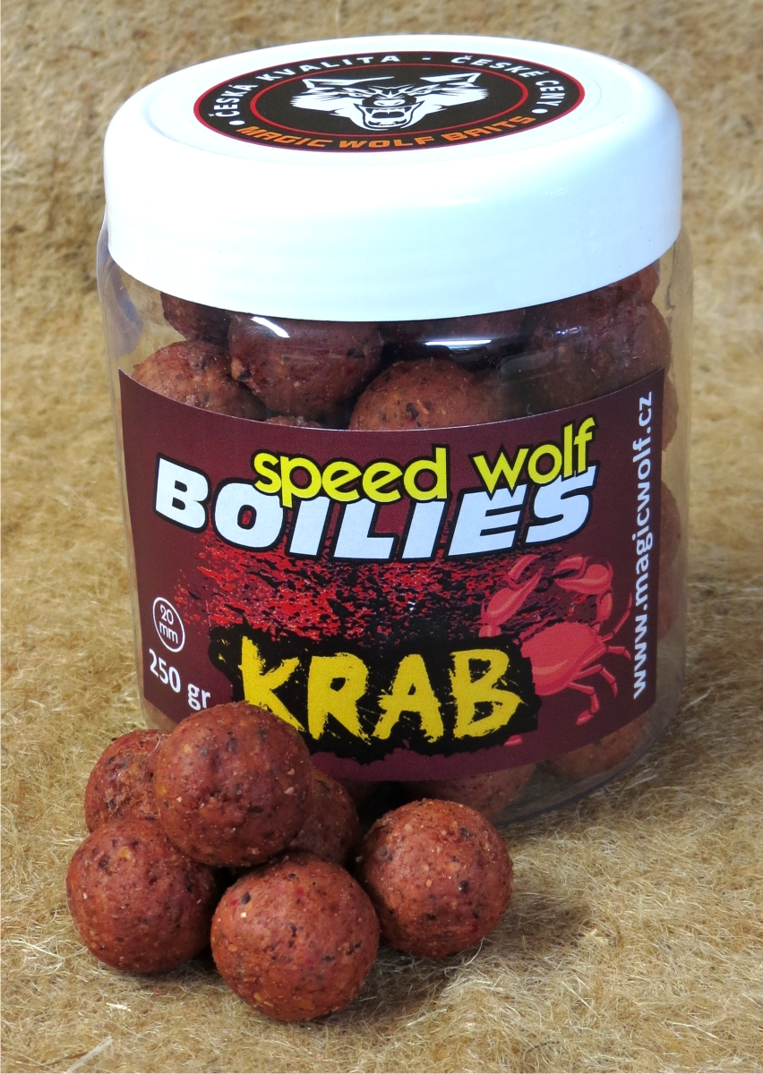 MAGIC WOLF - BOILIES SPEED WOLF 250 gr KRAB