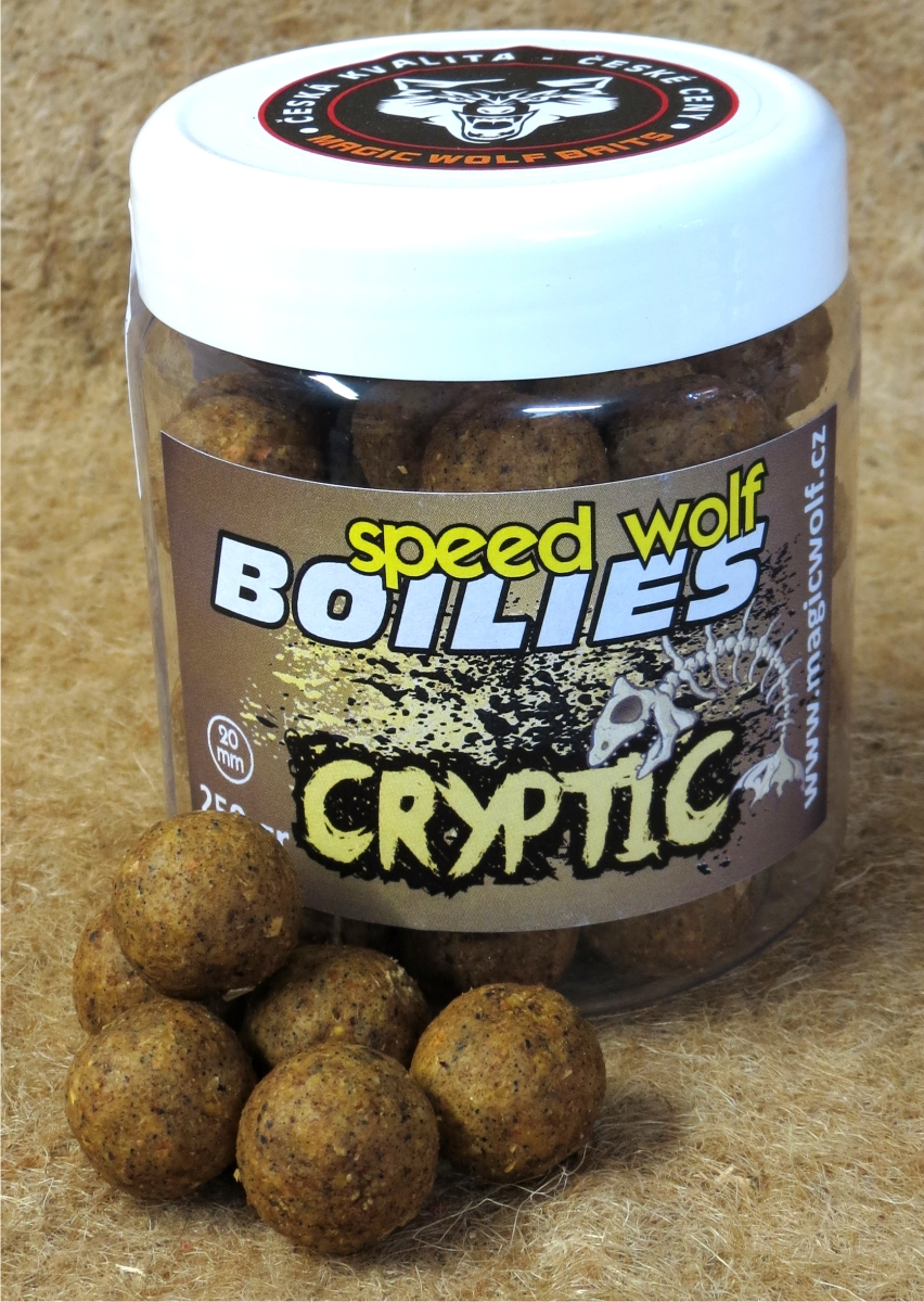 MAGIC WOLF - BOILIES SPEED WOLF 250 gr CRYPTIC