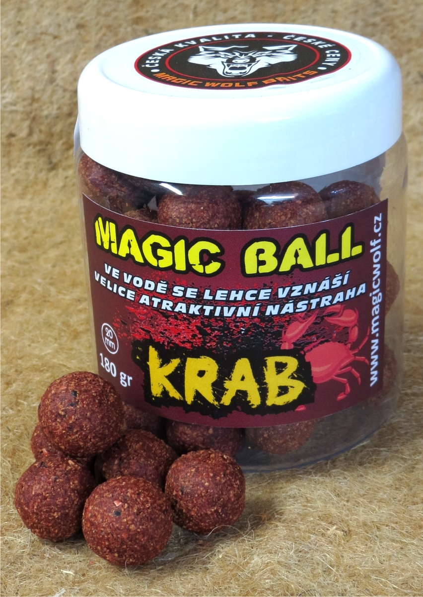 MAGIC WOLF - BOILIES MAGIC BALL 180 gr KRAB
