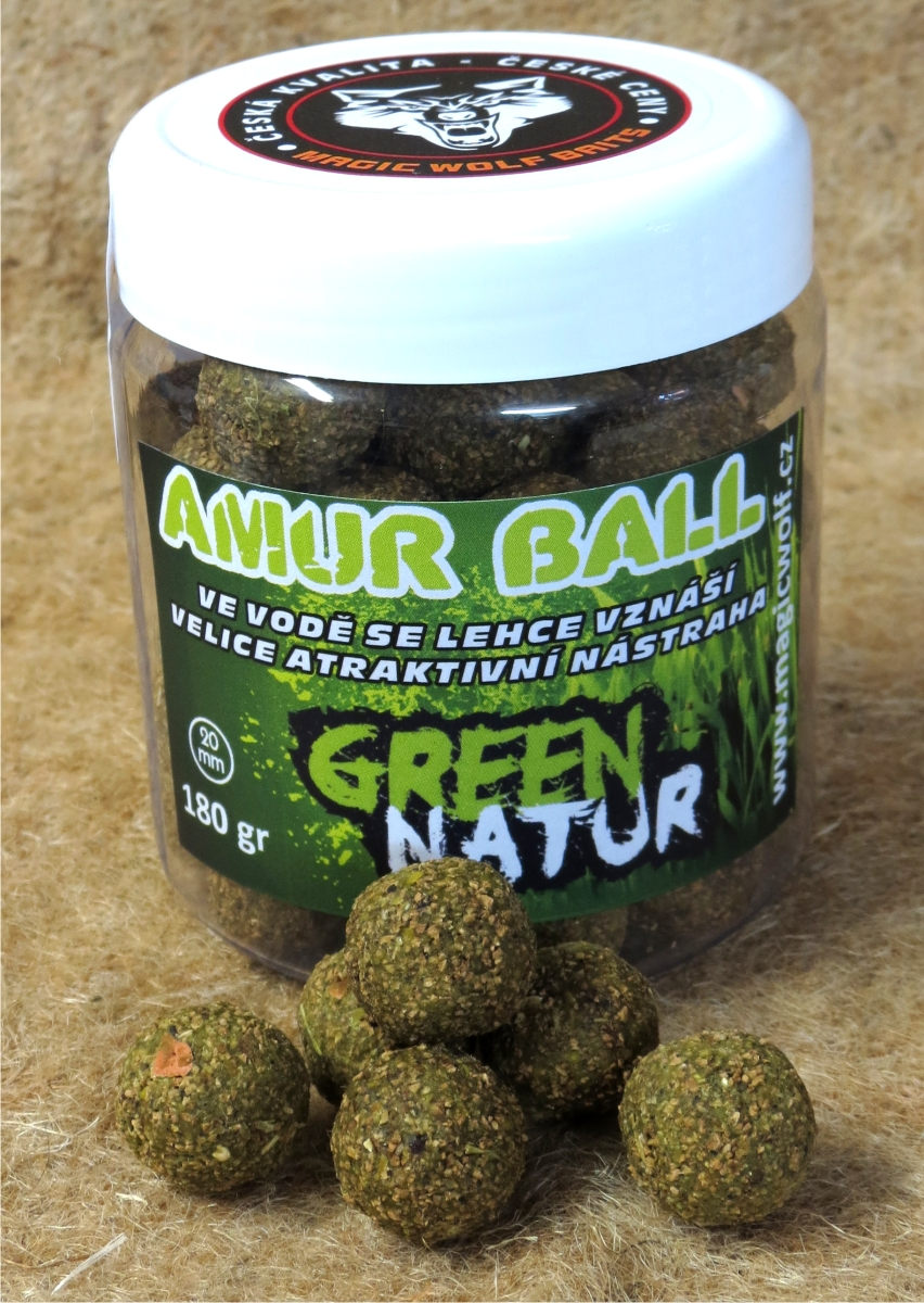 MAGIC WOLF - BOILIES AMUR BALL 180 gr NATUR