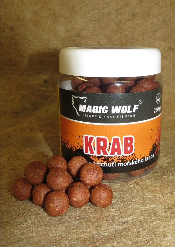 MAGIC WOLF - BOILIES SPEED WOLF 250 gr KRAB 15mm