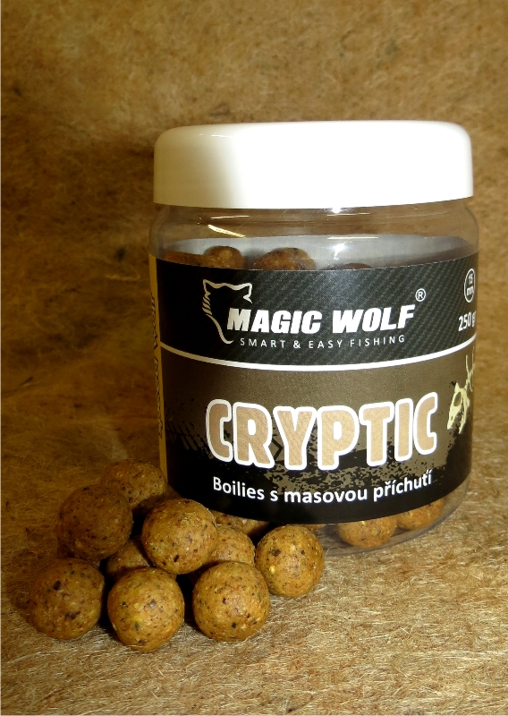MAGIC WOLF - BOILIES SPEED WOLF 250 gr cryptic 15mm