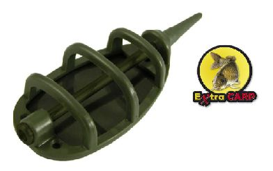 Extra Carp Method Feeder  - GREEN