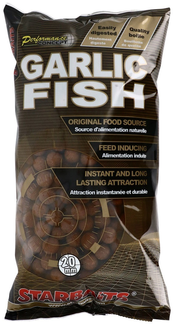 STARBAITS- Garlic Fish 20mm/1kg