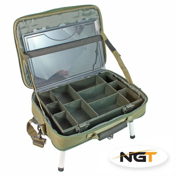 NGT Stolek v Kufříku Box Case Tackle Bag