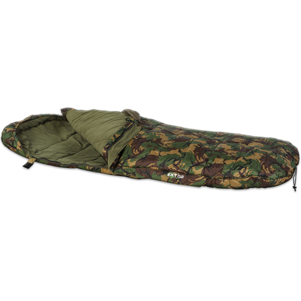 GIANTS FISHING- Spací pytel 5 Season EXT Plus Camo Sleeping Bag