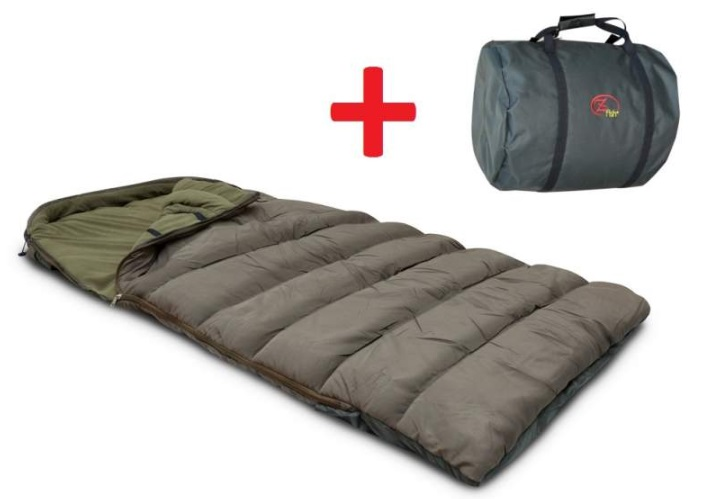 ZFISH- Spací Pytel Sleeping Bag Royal 5 Season + Taška Zdarma!