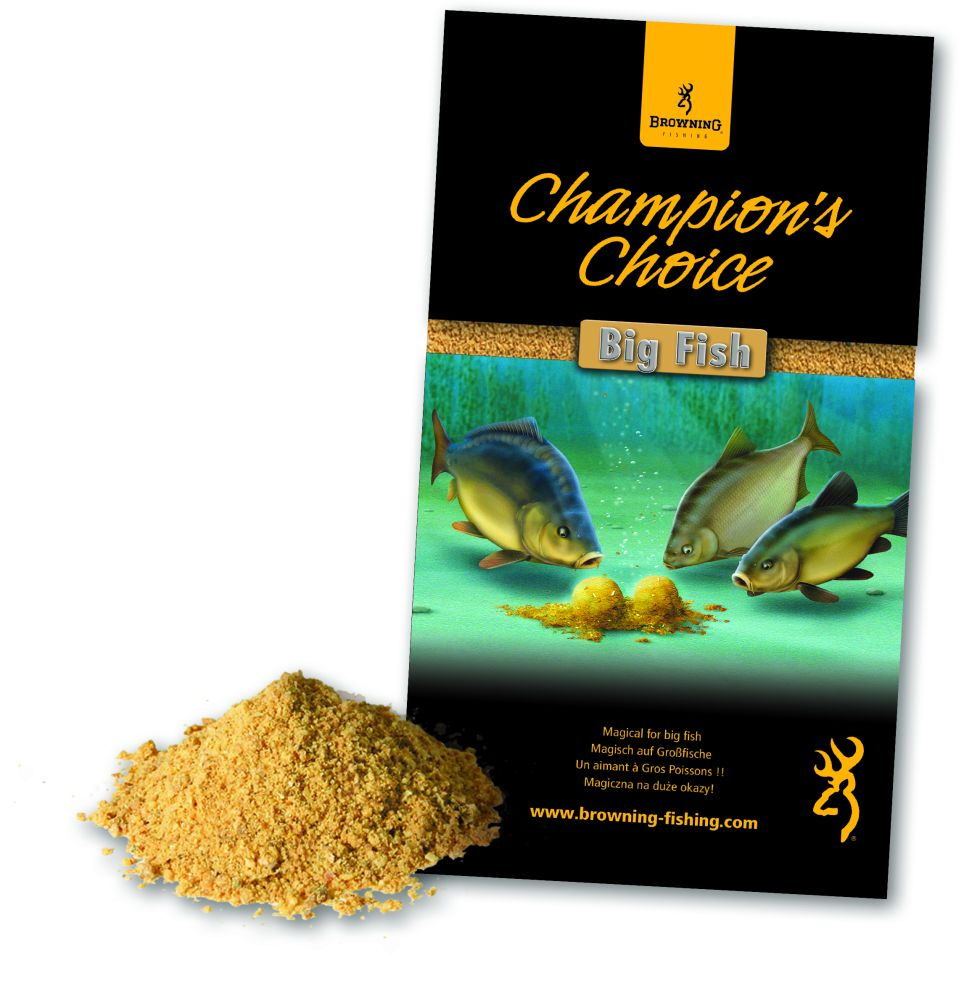 BROWNING- krmení Champions Choice Big Fish 1kg