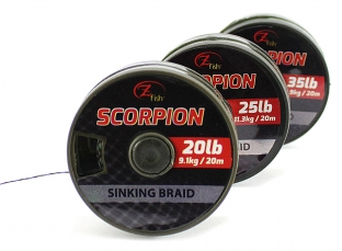 ZFISH- Šňůrka Scorpion Sinking Braid 20m