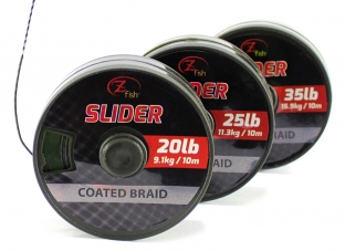 ZFISH- Šňůrka Slider Coated Braid 10m