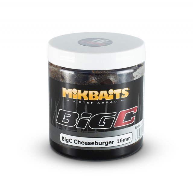 MIKBAITS- Boilie v dipu BigC- Cheeseburger 250ml