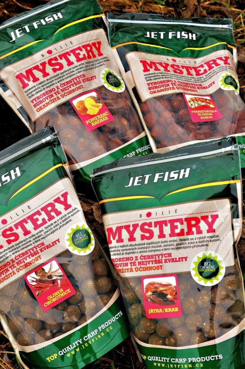 Jet Fish-Boilie Mystery - 16mm/900g